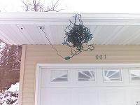 She asked me to hang the Christmas lights and I did. Why isn't she talking to me?