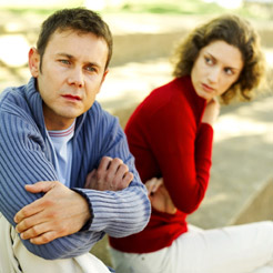 passive aggressive couple