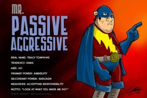 passive aggressive man